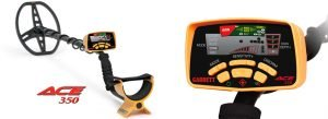 Garrett Ace 350 Metal Detector Treasure Hunter Package