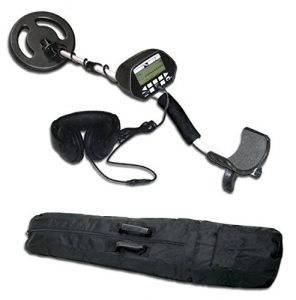 American Hawks Explorer II Metal Detector LCD Display Type of Object and Depth