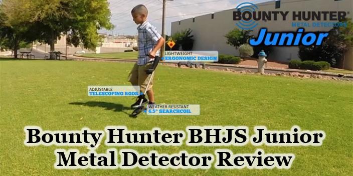 Bounty Hunter BHJS Junior Metal Detector Review
