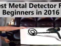 Best Metal Detector For Beginners in 2019